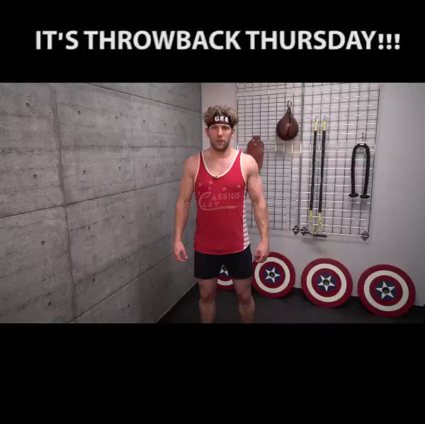 It's #TBT, time to get to work and build that body you've always yearned for.