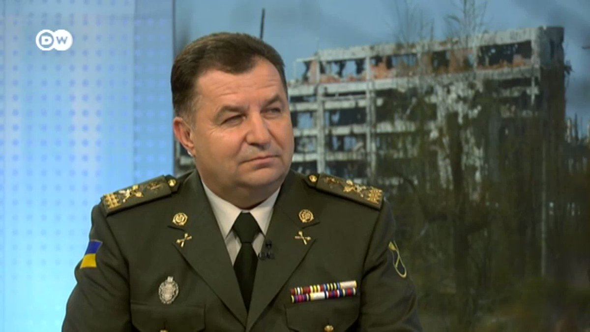 The Minsk agreement is the only alternative to fighting in Donbass, Ukraine's defence minister says