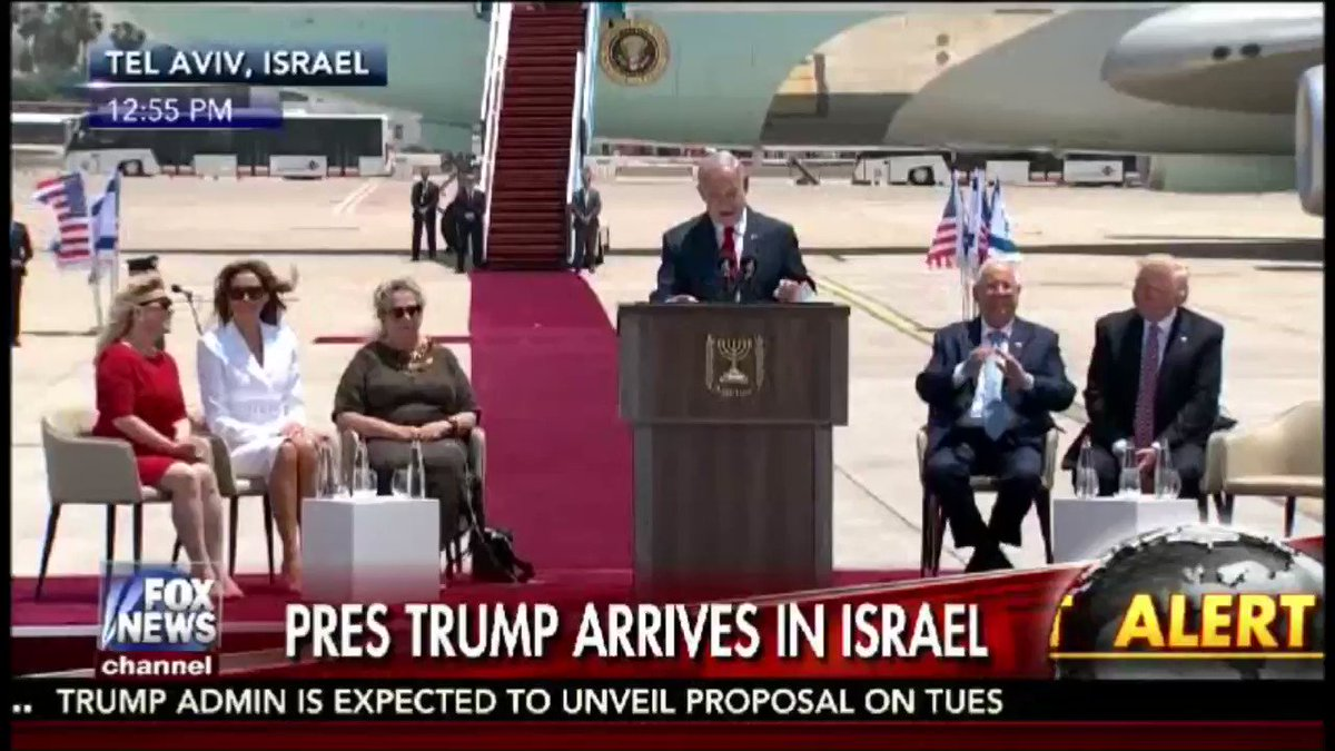 #Netanyahu   Never Before Has The 1ST Foreign Trip Of An #American President Included #Israel   #POTUSAbroad  https://t.co/vL4FDwANz3