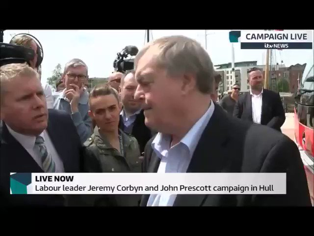 Brilliant: John Prescott being John Prescott in Hull #GE2017