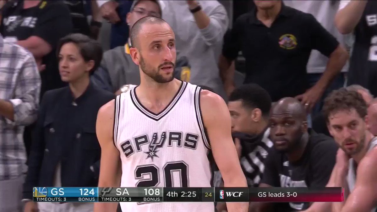 Salute to Manu if this was his last game. 💯👏 https://t.co/cCUCO3ji9Z