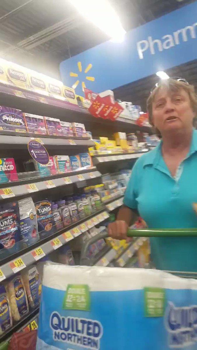 Arakansas Walmart racist calls black woman a 'n****r' and tells Latino to 'leave America'