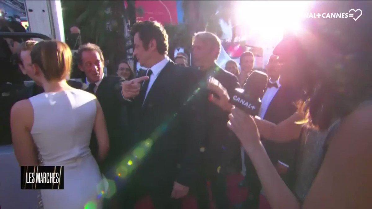 #BenicioDelToro 'J'ai grandi avec le @Festival_Cannes, c'est ma maison !' #Cannes70 #Cannes2017