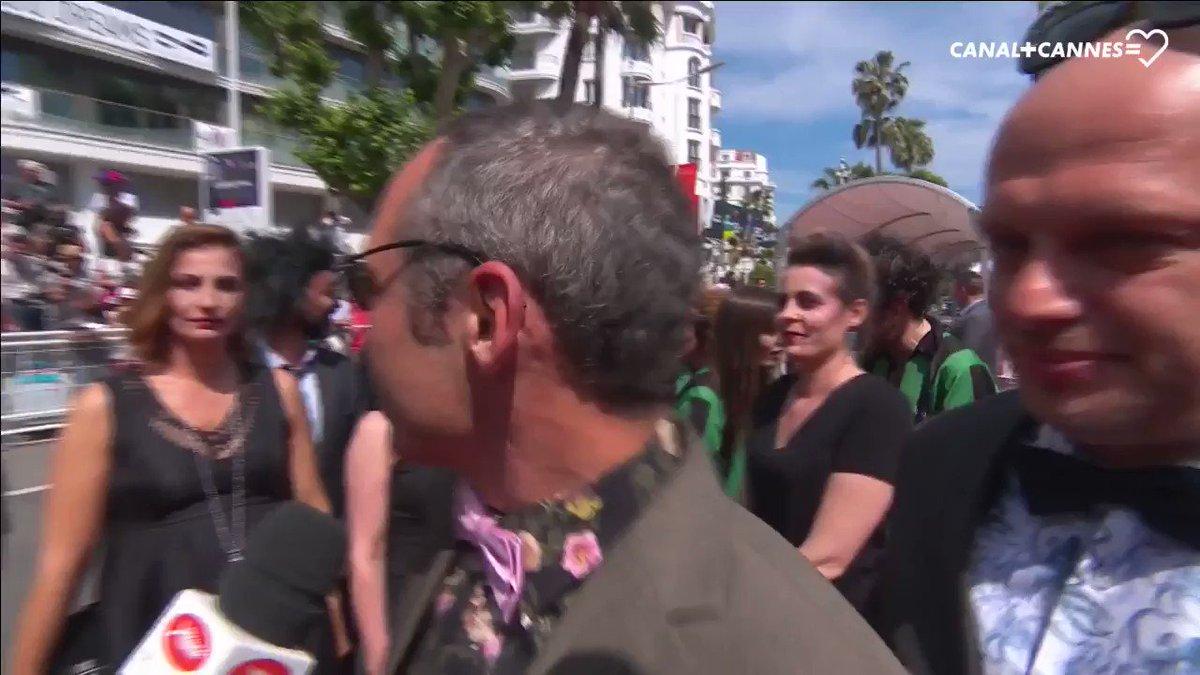 😂 #ArthurDePins & #AlexisDucord vous présentent l'équipe du film #Zombillénium #Cannes70 #Cannes2017