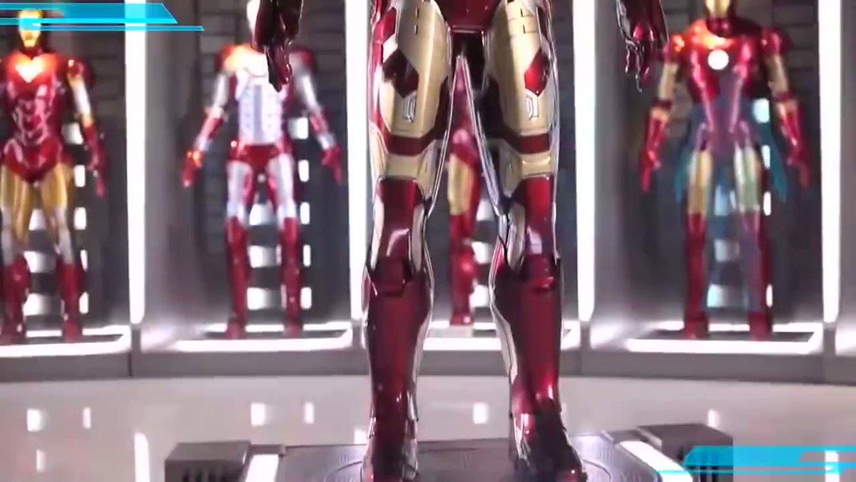 This life-size Iron Man suit is mind blowing