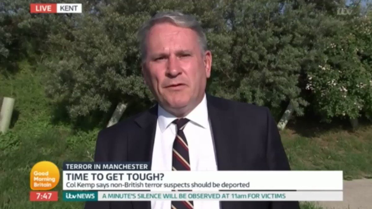 Colonel Richard Kemp, a former member of the COBRA committee and Joint  Intelligence Committee, as well as commander of British forces in Helmand,  ...