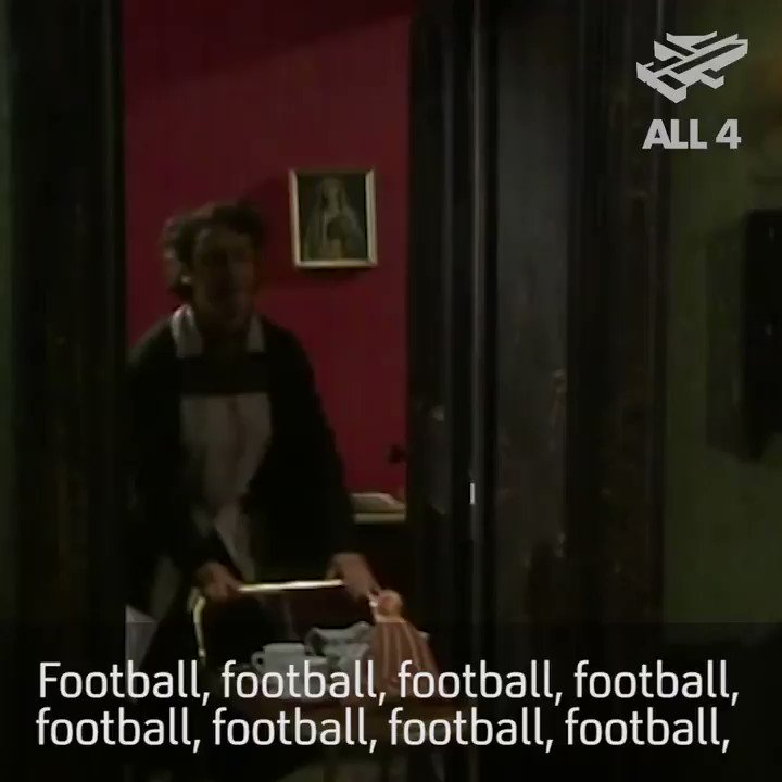 Everyone not watching the football today...  #FatherTed https://t.co/5aJnAbTApq