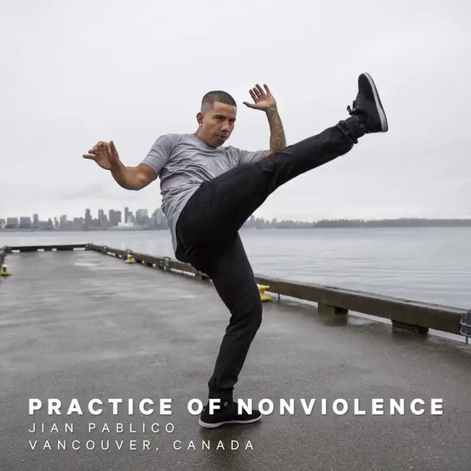 See how @jianpablico uses Capoeira and his community to put his practice in action. #thisisyoga