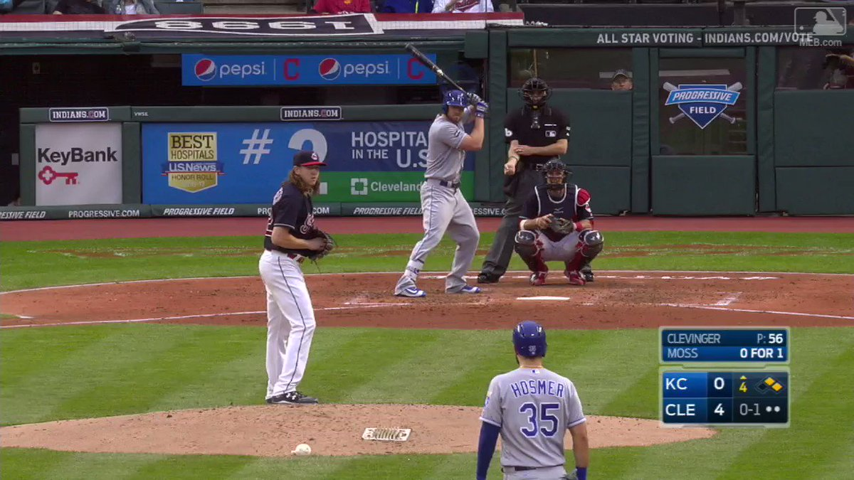 Brandon Moss rips a homer, and the #Royals don't look back. #RaisedRoy...