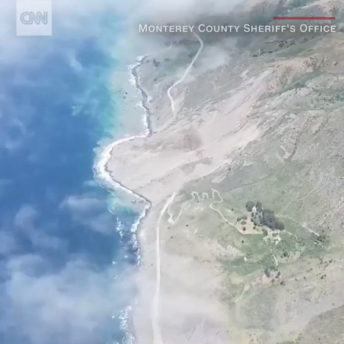 A massive landslide this week buried a portion of California's Pacific Coast Highway https://t.co/iqjyrzIrTi
