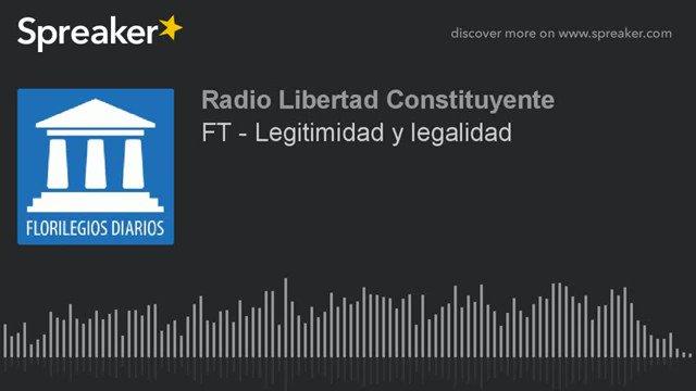 Legitimidad y legalidad 3V9 EstadoDeSitioCat X18 Santos Borré Chunga #Viradeira11 Keenum https://t.co/Plm7AF6cSs