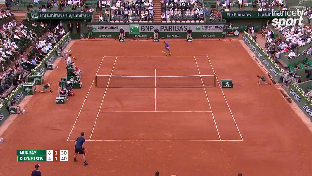 France Tv Sport On Twitter Tennis Tout En Finesse Andy Murray Loncil Remporte Un Superbe Point Rolandgarros Rg17