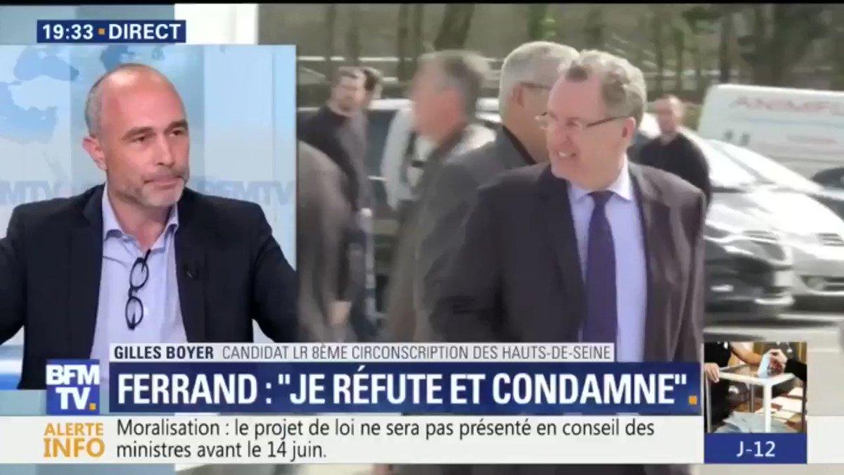 #19hRuthElkrief Boyer (LR) 'met en doute' la capacité de Ferrand à 'incarner la fonction ministérielle'