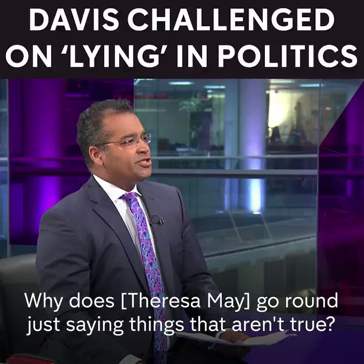 Wow. @krishgm absolutely nails David Davis over Tory lies. https://t.co/otQdomLScf