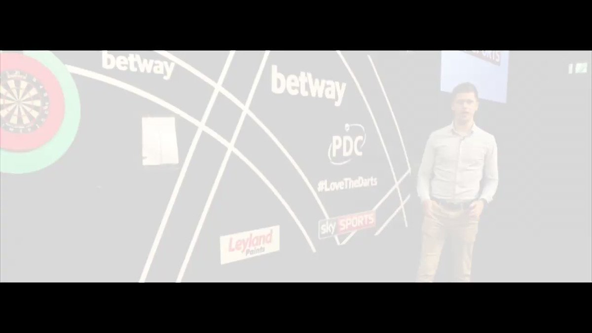 The story so far: The final day of the @Betway World Cup of Darts in Frankfurt...... #LoveTheDarts