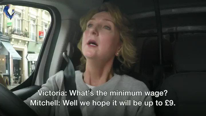 Vic's Van Share: the @Conservatives' Andrew Mitchell has several goes at guessing the minimum wage https://t.co/W6onFGNUVm #VictoriaLIVE