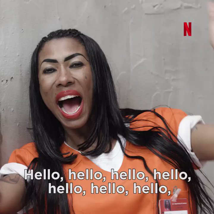 Inês Brasil está cada vez mais internacional. Ela é poderosíssima. #OITNB