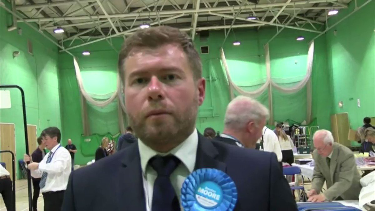 #Conservatives take Southport from #LibDems - New MP-elect Damien Moore