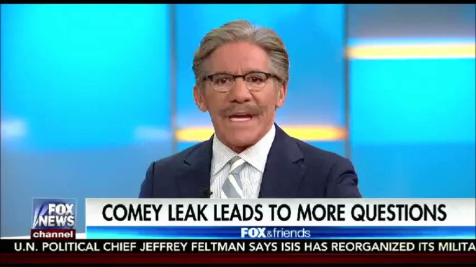 .@GeraldoRivera: Chances of impeachment went from 3% to 0% with Comey's testimony