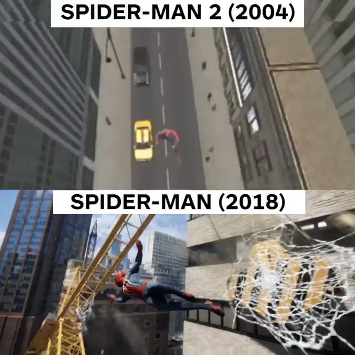 Will the new #SpiderManPS4 game be as 'amazing' as the beloved 2004 version? #PlayStationE3 #E32017