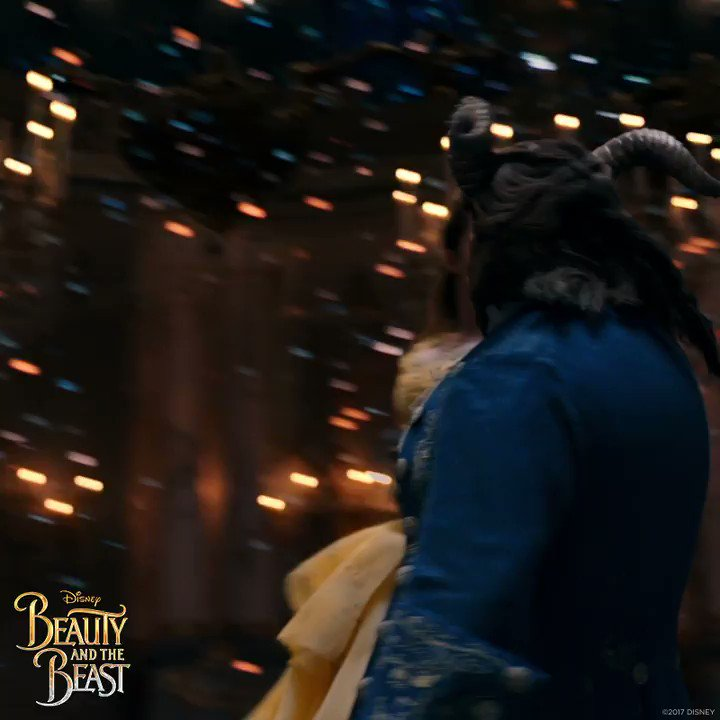 @EmmaWatson shines as Belle in Disney's #BeautyAndTheBeast.