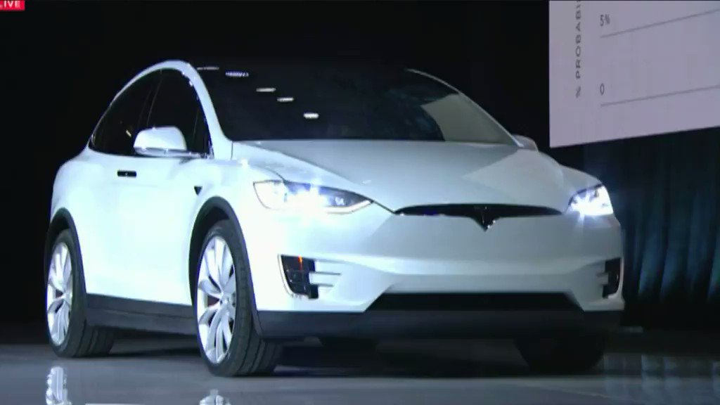 The Tesla Model X is the safest SUV ever tested, according to The National Highway Traffic Safety Administration. https://t.co/5UIyxgxhke