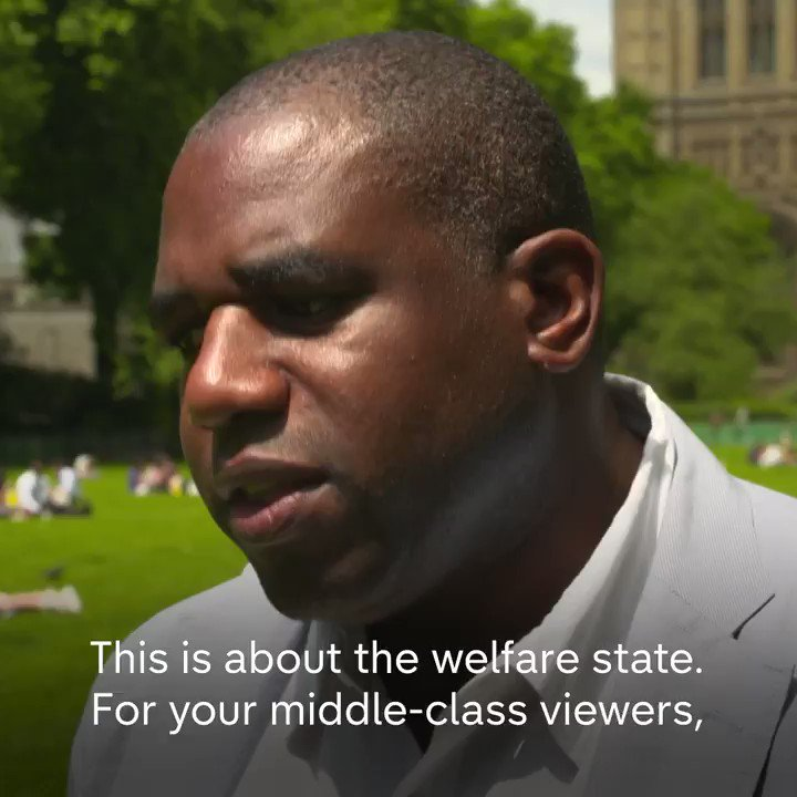 .@DavidLammy becomes tearful when remembering Khadija Saye, a friend lost in the Grenfell Tower fire.
