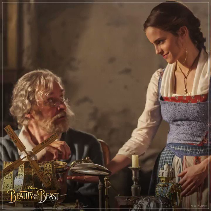 A father's love is unconditional. Happy #FathersDay! #BeautyAndTheBeast