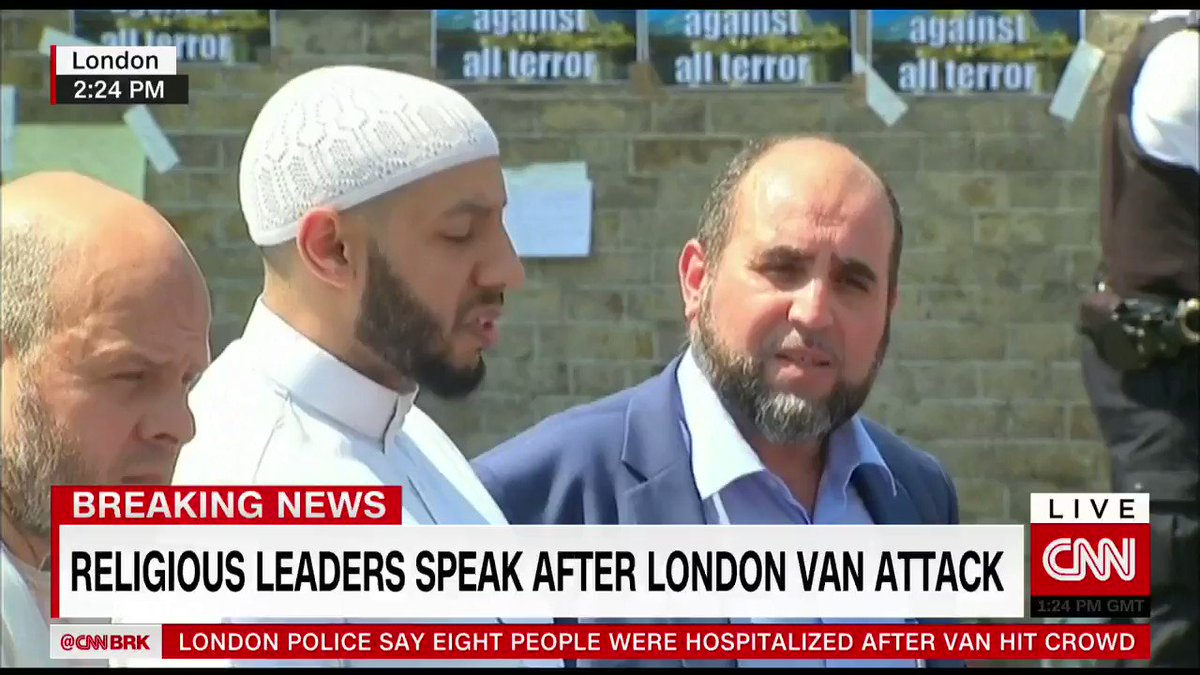 Muslim Welfare House imam Mohammed Mahmoud describes how the #FinsburyPark attack unfolded https://t.co/wOGK5pJXRB