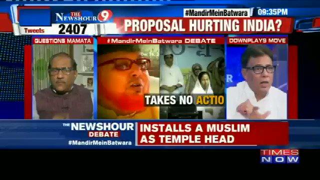 #WATCH | Ratan Sharda asks some pointed questions to the Muslim community during the debate on  #MandirMeinBatwara