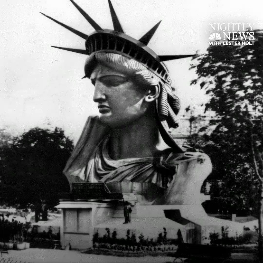 WATCH: On June 19, 1885, the Statue of Liberty arrived at its permanent home at Bedloe's Island in New York Harbor.