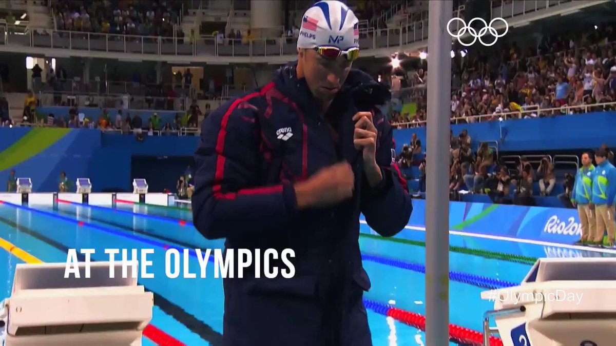 Let @MichaelPhelps inspire you to get off the couch and do some sport...