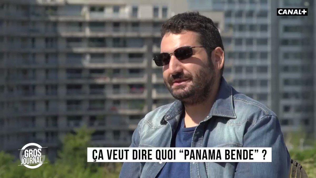 """""""Ça veut dire quoi 'Panama Bende' ?"""" -  @PANAMABENDE au #GrosJournal"""