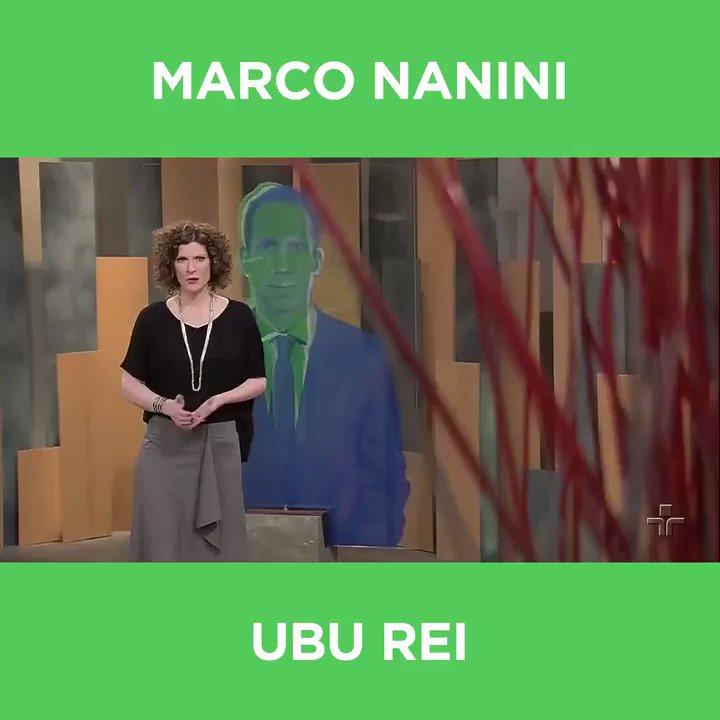 Cunha Jr. entrevistou o ator Marco Nanini no #Metrópolis do último domingo (18), para falar sobre a peça 'Ubu Rei'.