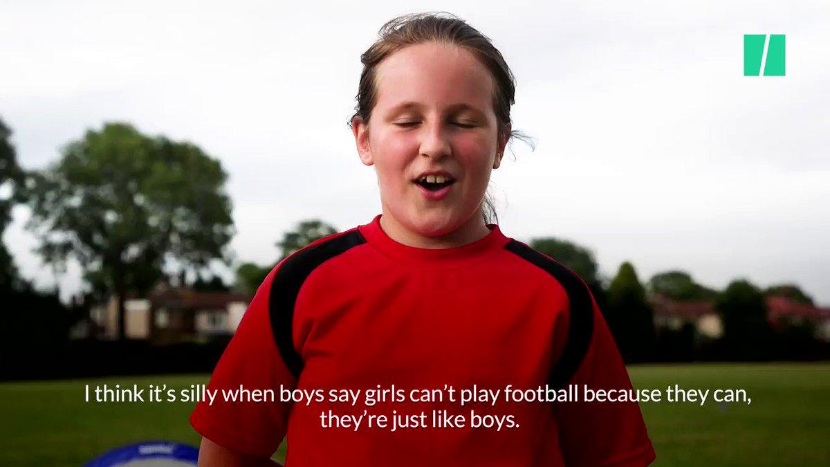These girls prove that football isn't ju...