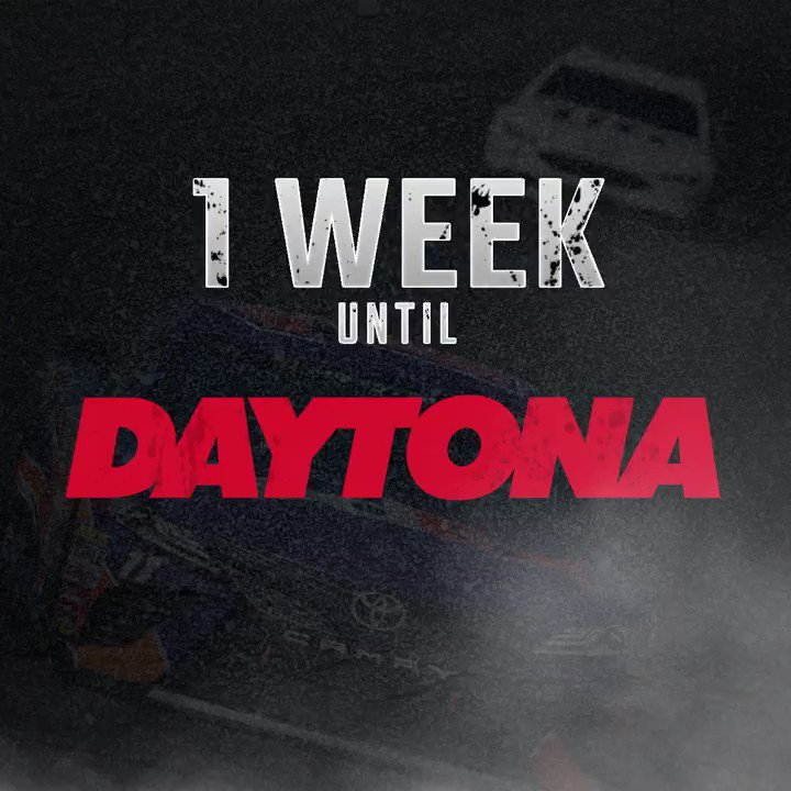 One. More. Week. 😱  #NASCAR returns to @DISUpdates on NBC on July 1 at...