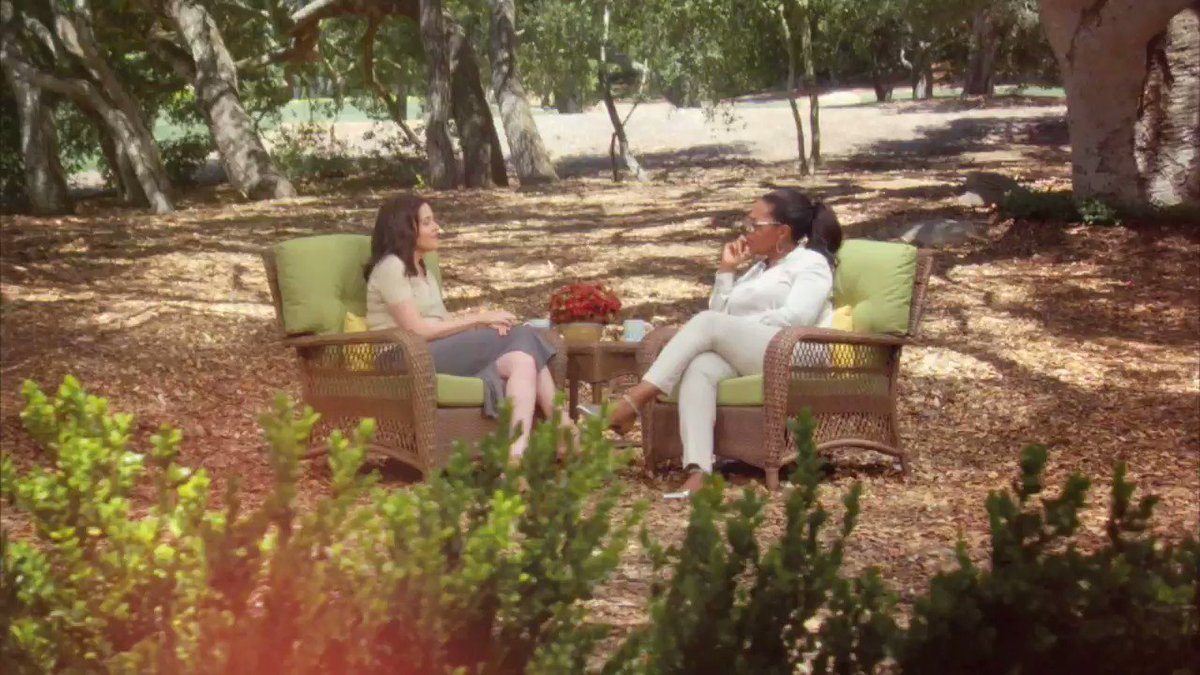 .@sherylsandberg is on #SuperSoulSunday this week. We talked about her losing her husband & how she learned to become more present. Sun 11a