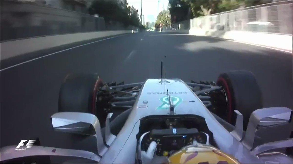Perdeu a volta voadora em Baku que deu a 66ª pole-position para Lewis...