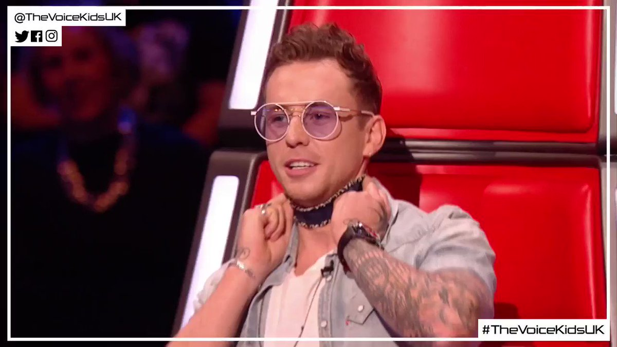 When three Coaches become one = dan.i.lott 😂 #TheVoiceKidsUK @itsDanny...