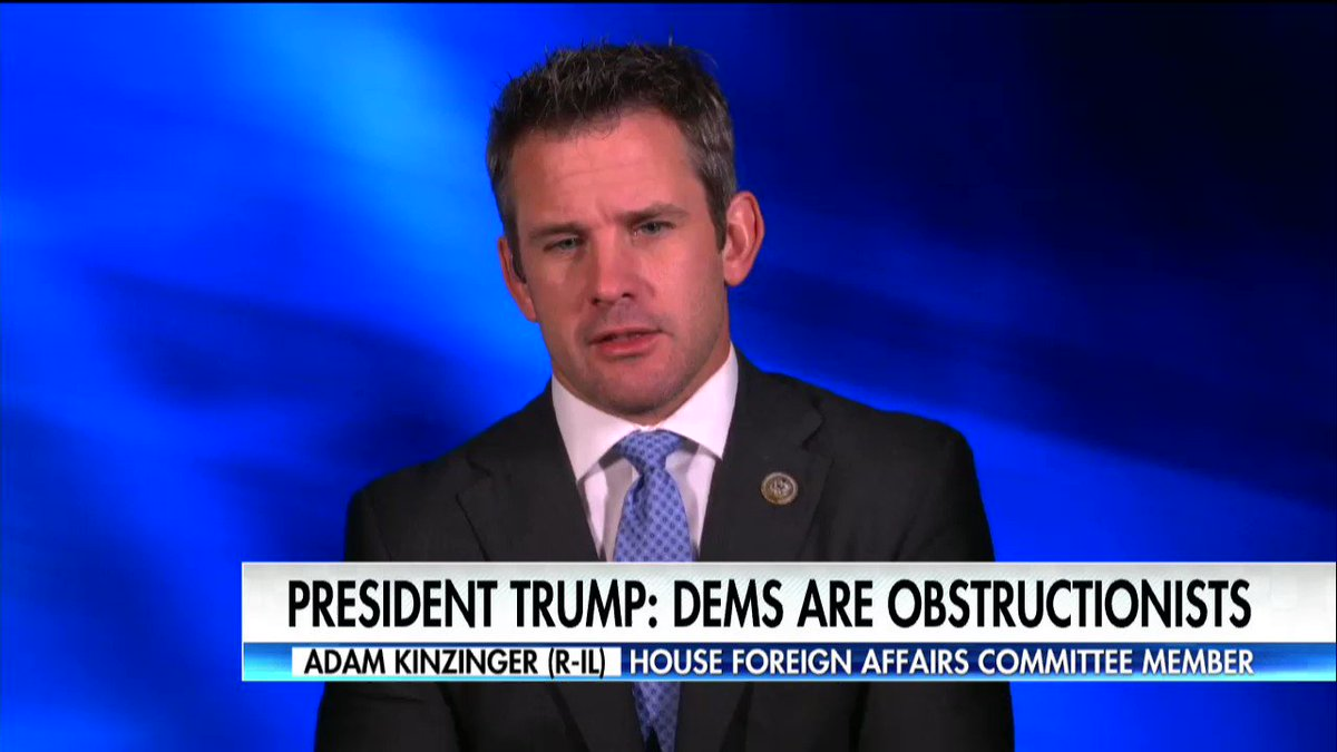 """.@RepKinzinger: """"I don't think [@TheDemocrats] want to work with us on healthcare."""" https://t.co/bGxpJUxIVE"""
