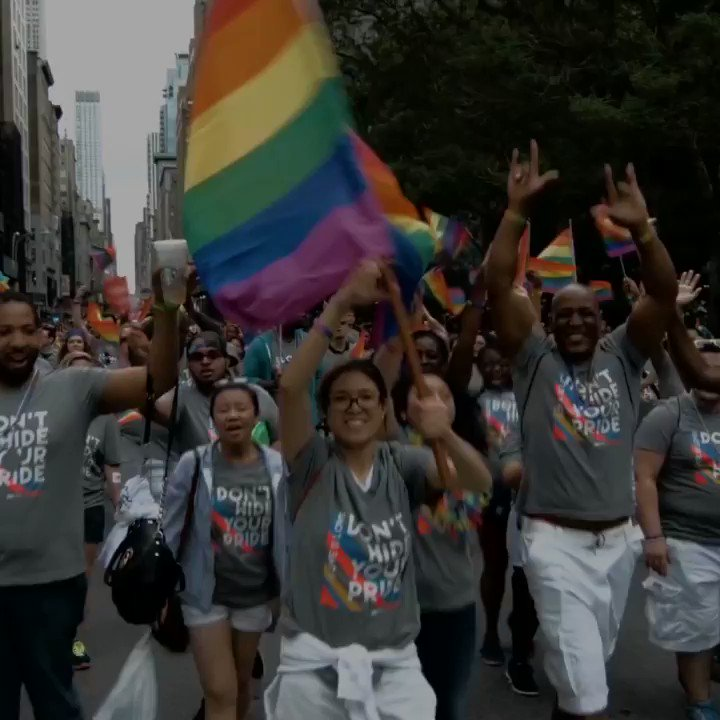 Happy Pride from New York, the birthplace of pride. #LoveIsLove https:...