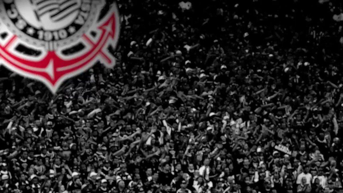 Corinthians escalado! ⚫️⚪️  #VaiCorinthians https://t.co/QpnxDtzFu0