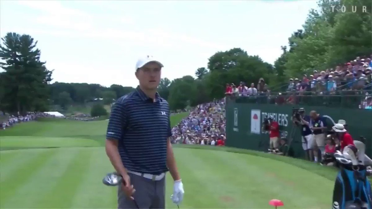 Jordan Spieth has won the @TravelersChamp.  Here's his message to all...