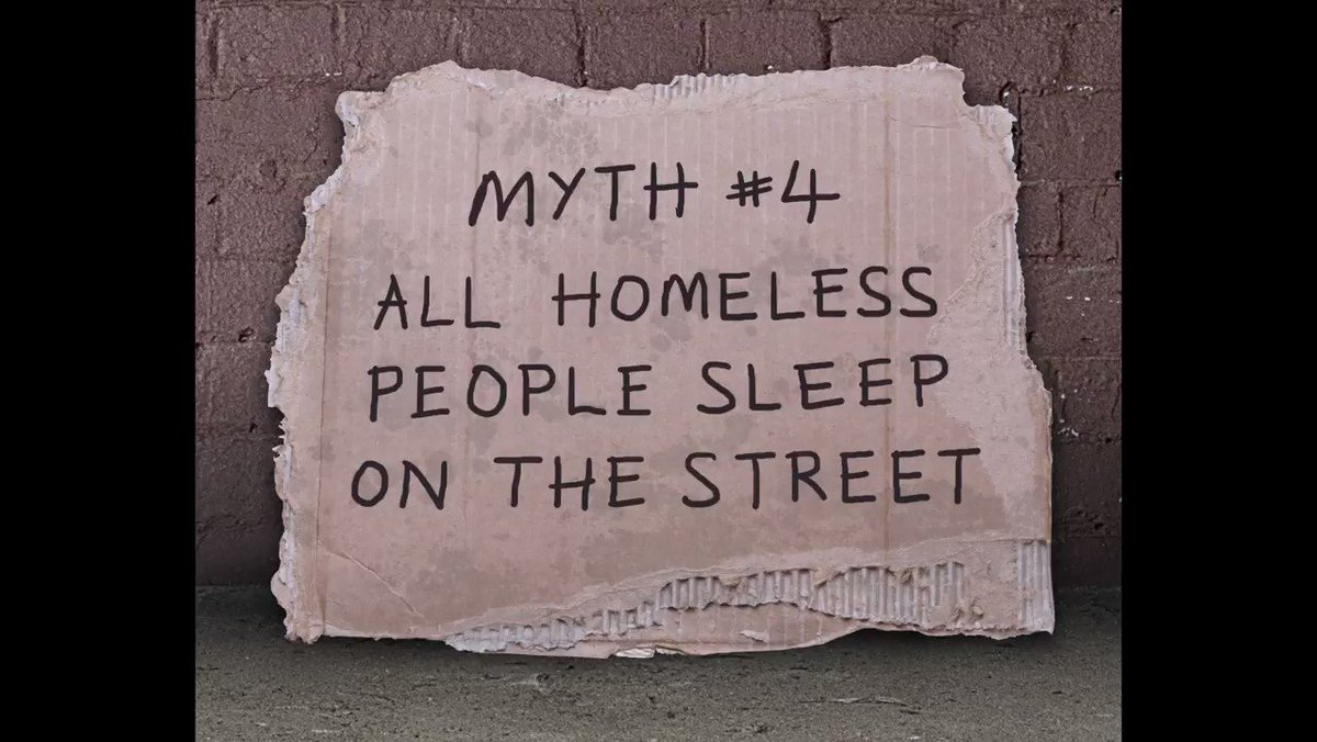 The stark statistics that debunk the myths surrounding homelessness....