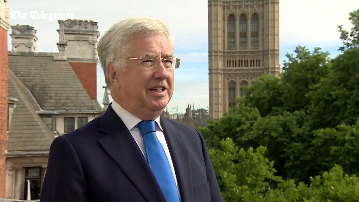 Defence Secretary Sir Michael Fallon says the Russians will 'be admiri...