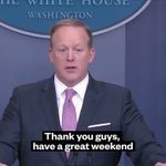 RT @vicenews: And with that, Sean Spicer is report...