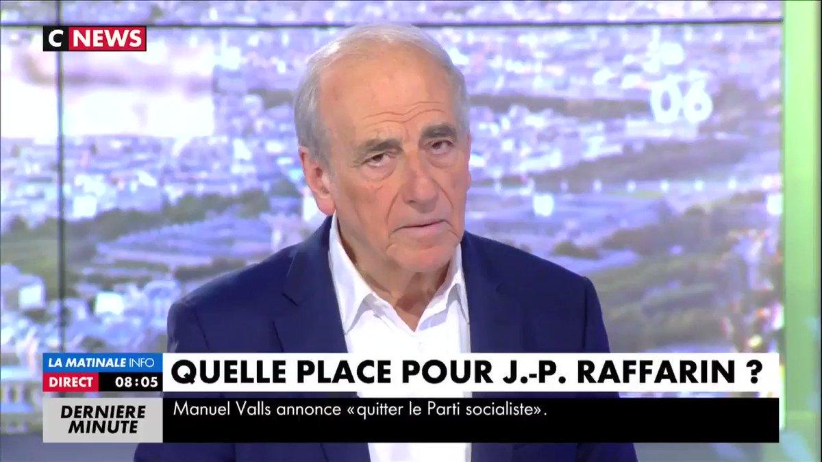 Sur le départ de Manuel #Valls du #PS : 'Je trouve qu'il y a qqch de t...