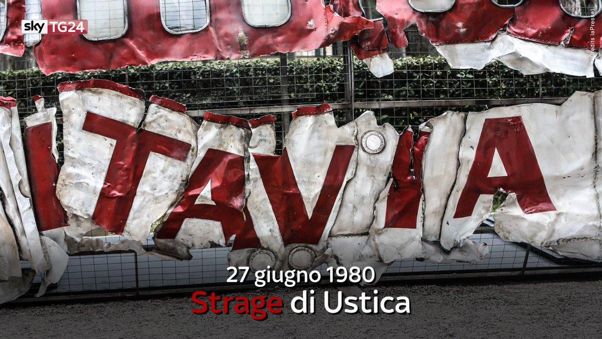 Il #27giugno 1980 un aereo Dc9 dell'Itavia cadde al largo di #Ustica:...