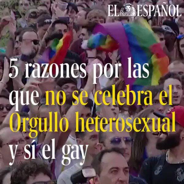 '¿Por qué no hay un día del #Orgullo2017 heterosexual?'. Te lo explica...