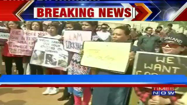 #WATCH | Protests in Bengaluru demanding statehood for Gorkhaland